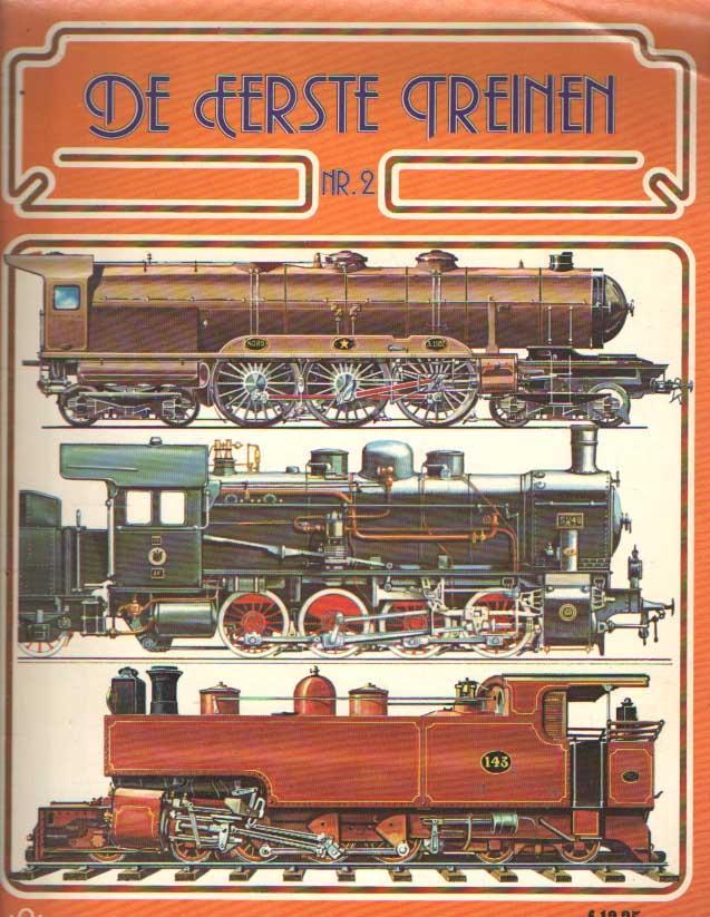 WEAVER, HARRY - De eerste Treinen. Nummer 2.