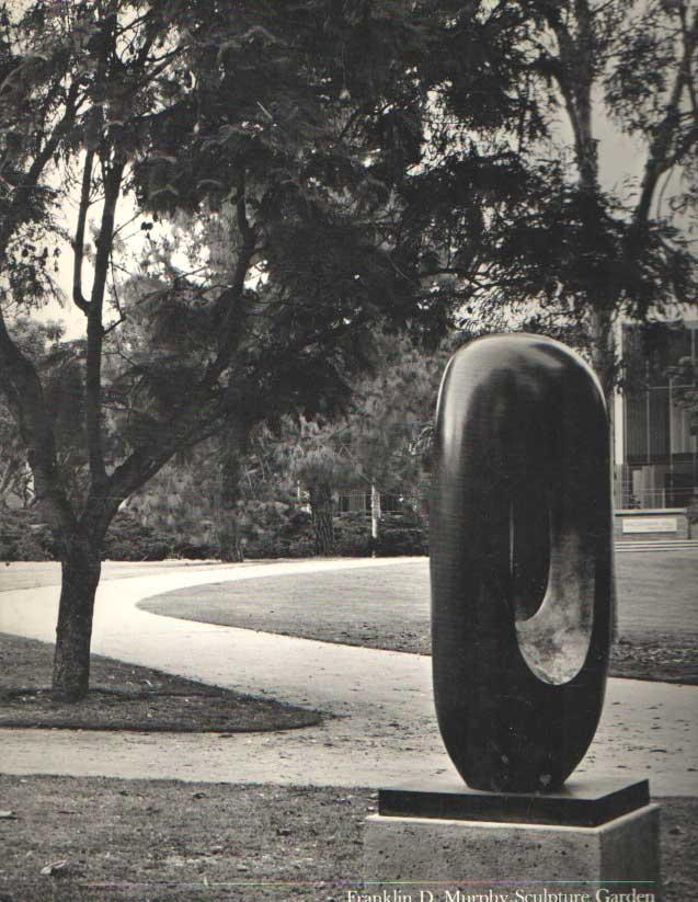 - Franklin D. Murphy Sculpture Garden: An Annotated Catalog of the Collection, 1978.