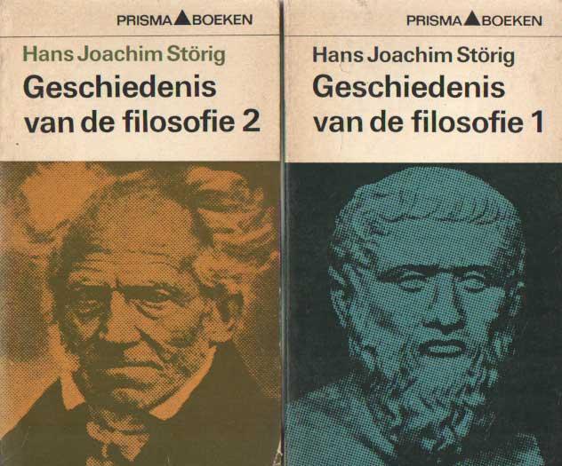 STÖRIG, HANS JOACHIM - Geschiedenis van de filosofie. Deel 1 en 2.