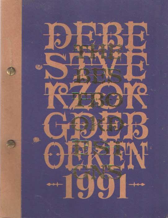 - De best verzorgde boeken. The best book designs 1991.