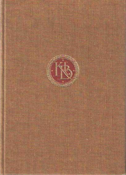 DIERCKS, G.F. - Het Griekse Treurspel. Aeschylus - Sophocles - Euripides. Een keuze uit vertalingen van hun werken, verzorgd, ingeleid en van verbindende teksten voorzien door Dr G.F. Diercks.