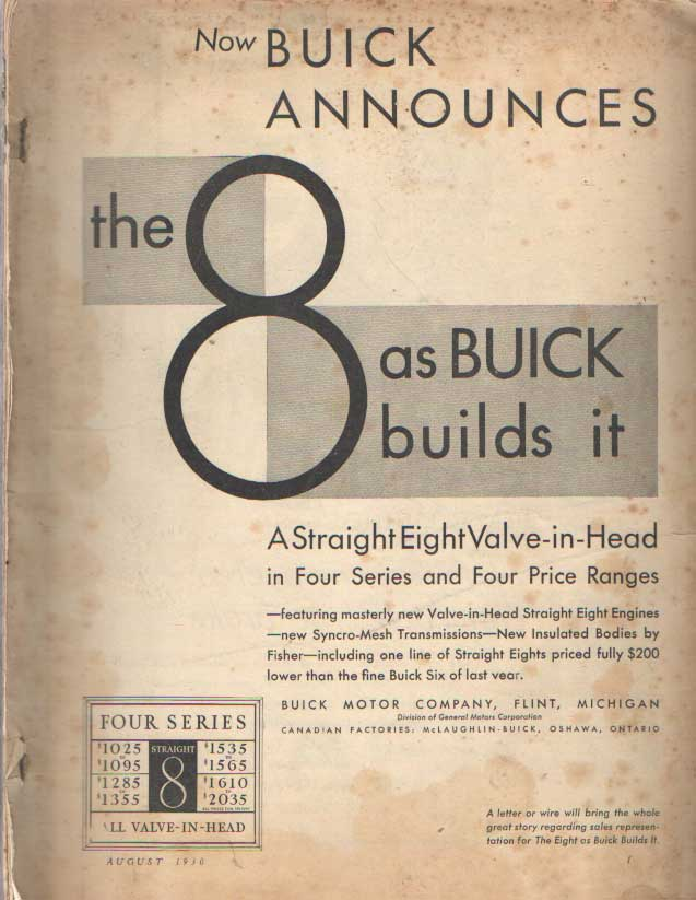 - Now Buick announces. The 8 as Buick builds.