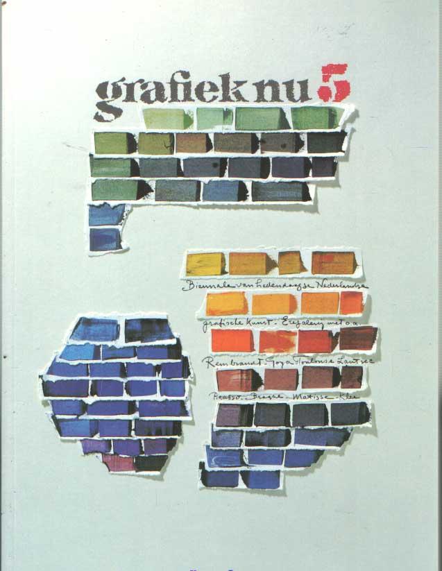 BEEK, WIM VAN DER - Grafiek Nu 5. Biënnale van Nederlandse grafische kunst. Singermuseum, Laren, 22 november 1992 t/m 10 januari 1993.