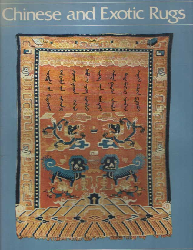 EILAND, MURRAY L. - Chinese and Exotic Rugs.