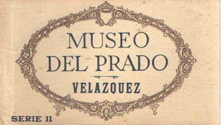 - Museo del Prado. Velasquez. 20 tarjetas postales.