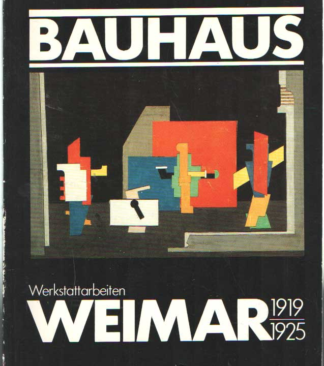 SCHEIDIG, WALTHER - Bauhaus Weimar 1919-1924. Werkstattarbeiten..