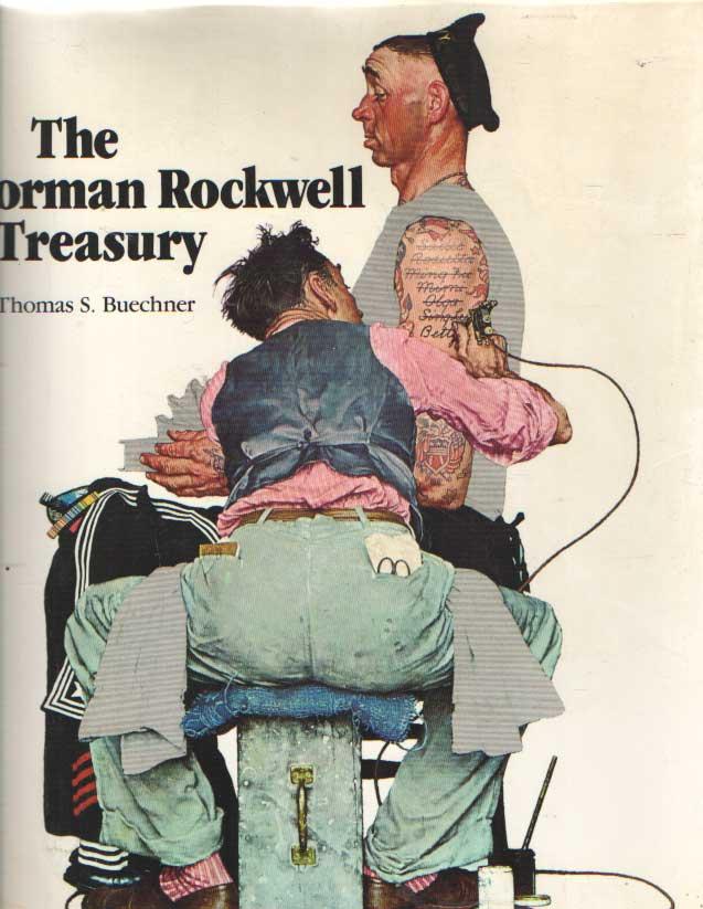 BUECHNER, THOMAS S. - The Norman Rockwell Treasury.