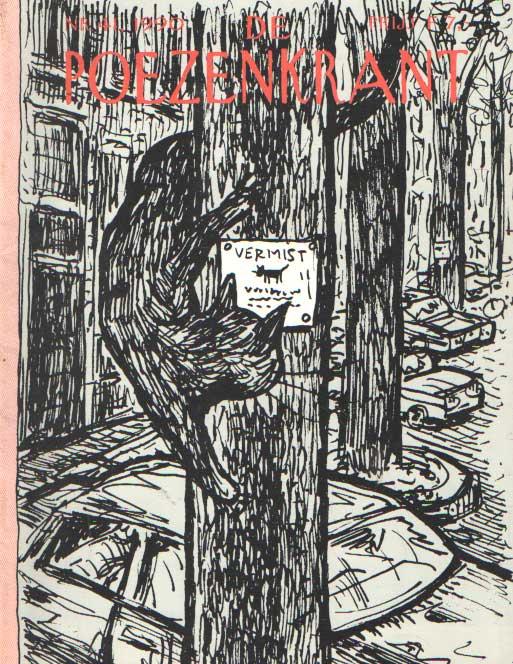 SCHREUDERS, P. (RED.) - De poezenkrant. Vol. 41.