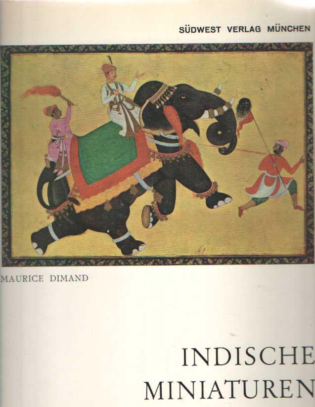 DIMAND, MAURICE - Indische miniaturen.
