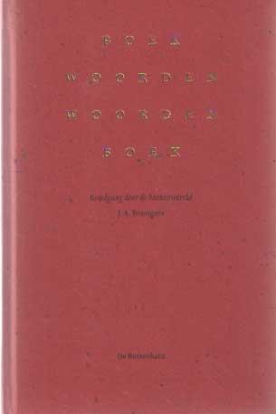 BRONGERS, J. AYOLT - Boekwoorden woordenboek. Rondgang door de boekenwereld.