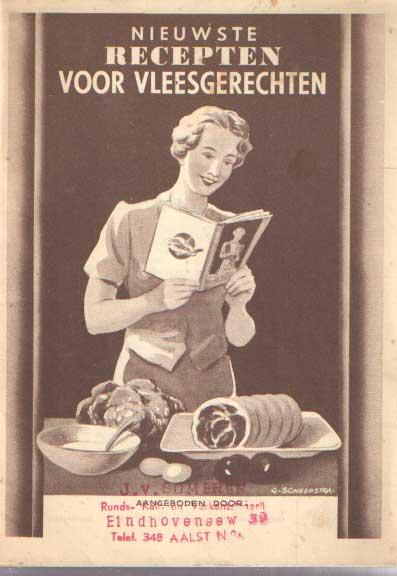 VERASDONCK, J. - Nieuwe recepten voor vleesgerechten.