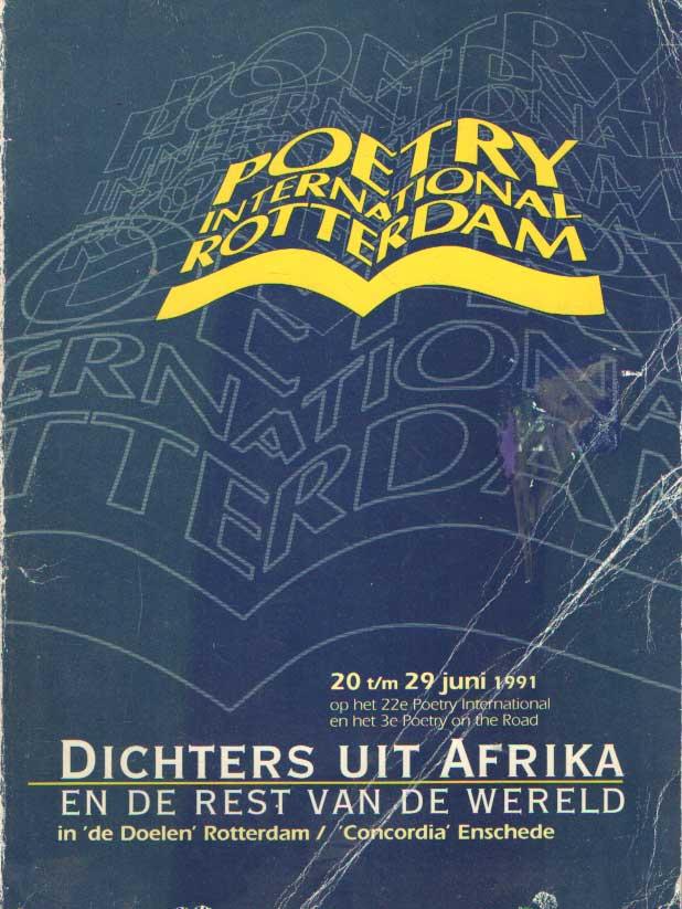 - Poetry International. Poetry on the road 1991 (Dichters uit Afrika en de rest van de wereld).