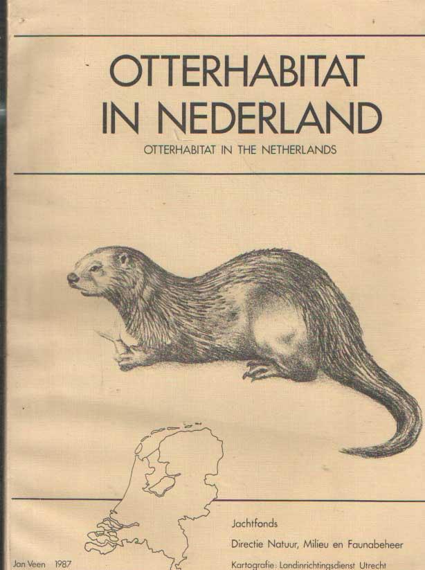 VEEN, JAN - Otterhabitat in Nederland. Een onderzoek naar de geschiktheid van de Nederlandse binnenwateren als habitat voor de otter (Lutra lutra L.).