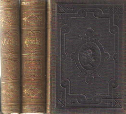 GOETHE, JOHANN WOLFGANG VON - Goethes Werke. 36 Bände in 18 Büchern.