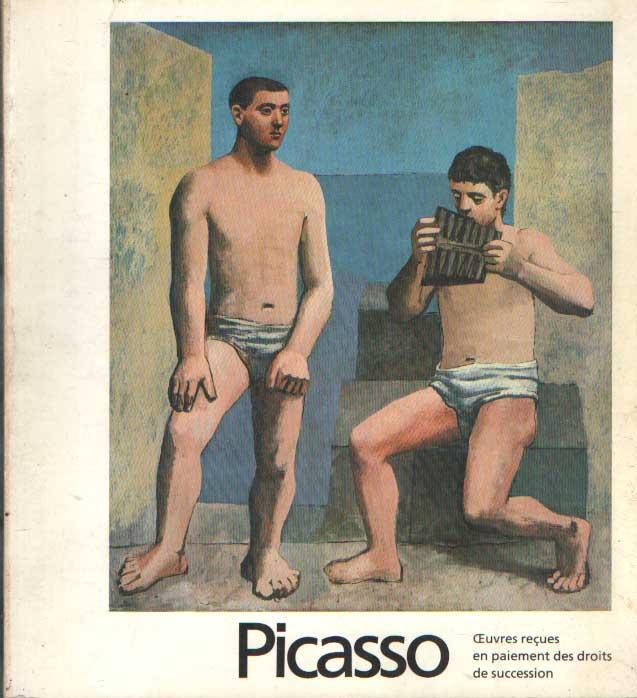 - Picasso: oeuvres recues en paiement des droits de succession..