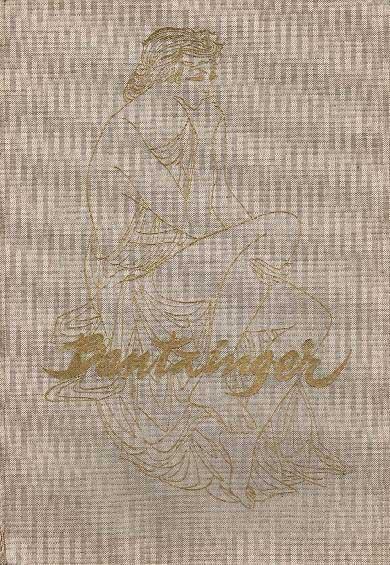 BANTZINGER, C.A.B. - Tekenaar. C.A.B. Bantzinger.