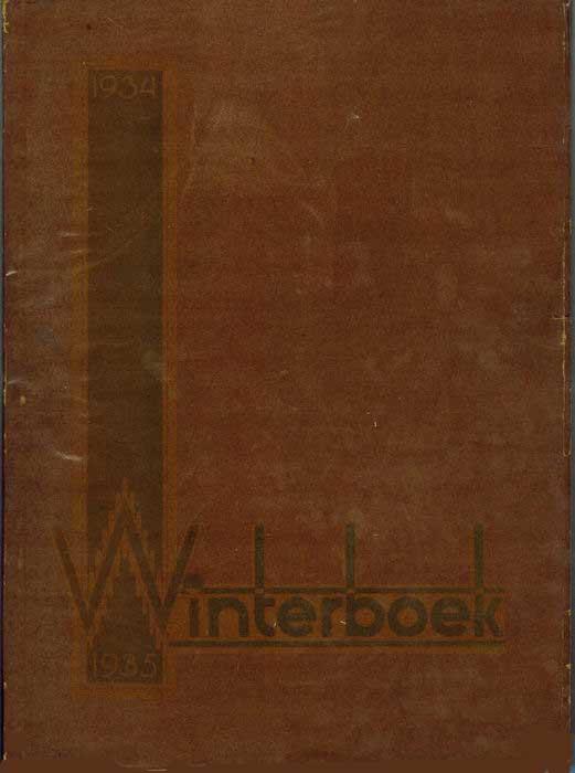 DIV - Winterboek 1934-1935.