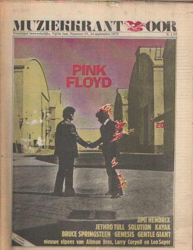 DIVERSE AUTEURS - Muziekkrant Oor. Vijfde jaar, nummer 19 24 spetmber 1975.