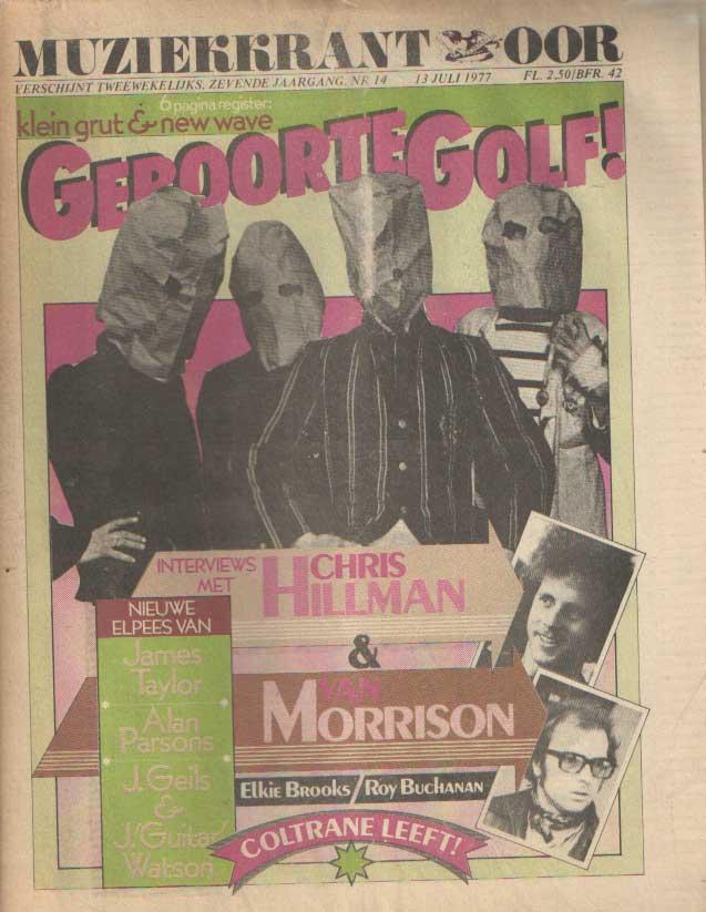 DIVERSE AUTEURS - Muziekkrant Oor. Zevende jaargang, nummer 14, 13 juli 1977.