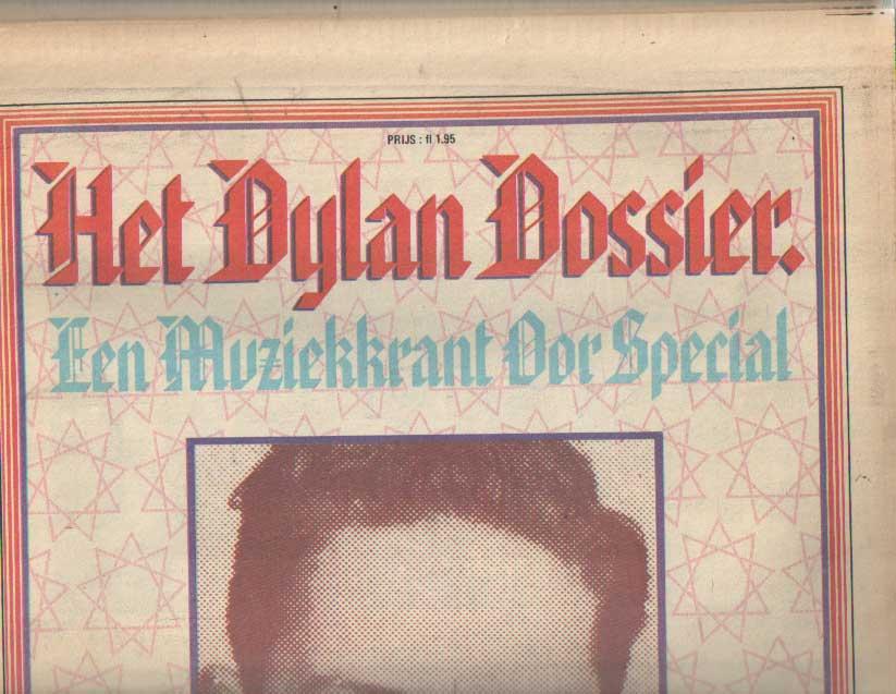 DIVERSE AUTEURS - Muziekkrant Oor. Achtste jaargang, Bob Dylan Dossier.
