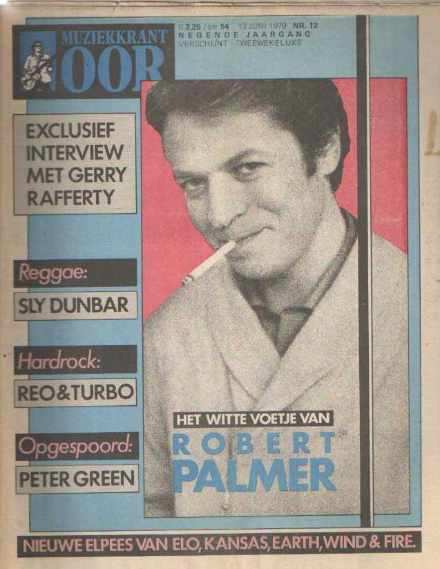 DIVERSE AUTEURS - Muziekkrant Oor. Negende jaargang, nummer 12, 13 juni 1979.