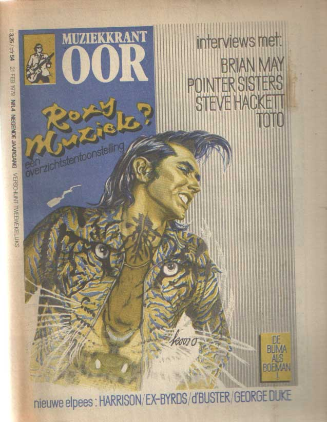 DIVERSE AUTEURS - Muziekkrant Oor. Negende jaargang, nummer 4, 21 februari 1979.
