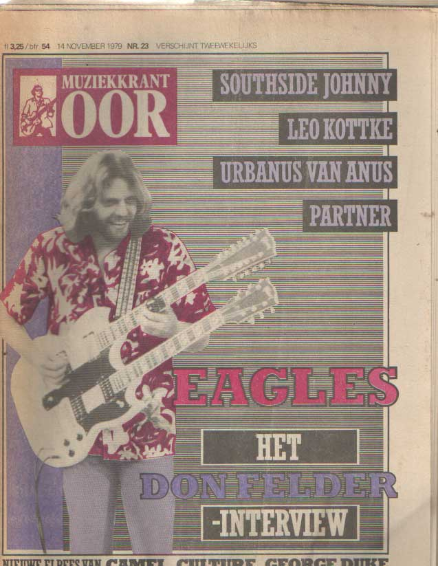 DIVERSE AUTEURS - Muziekkrant Oor. Negende jaargang, nummer 23, 14 november 1979.
