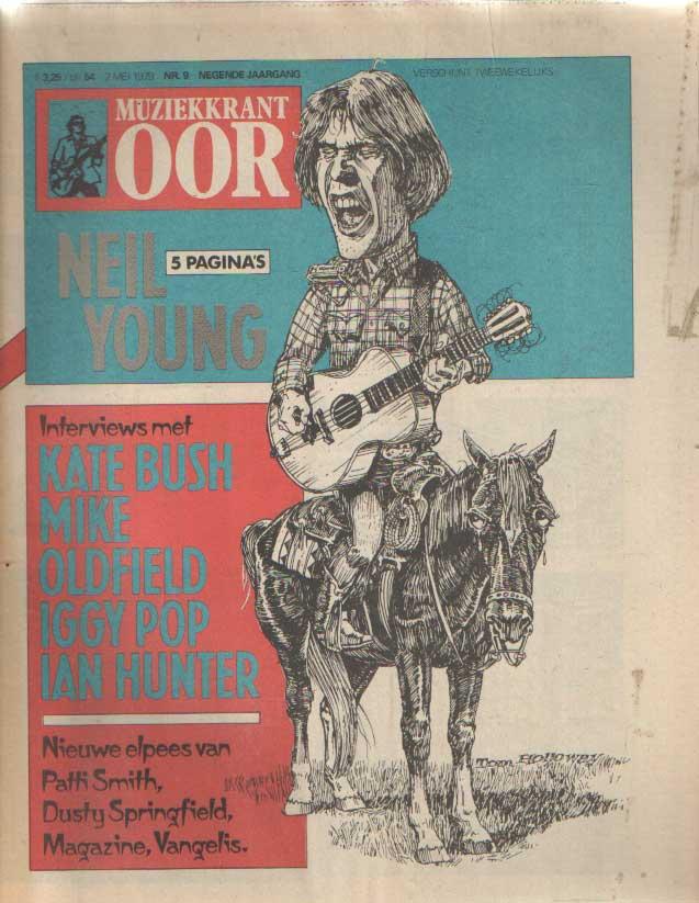 DIVERSE AUTEURS - Muziekkrant Oor. Negende jaargang, nummer 9, 2 mei 1979.