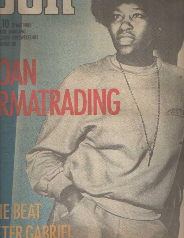 DIVERSE AUTEURS - Muziekkrant Oor. Negende jaargang, nummer 10, 21 mei 1980.