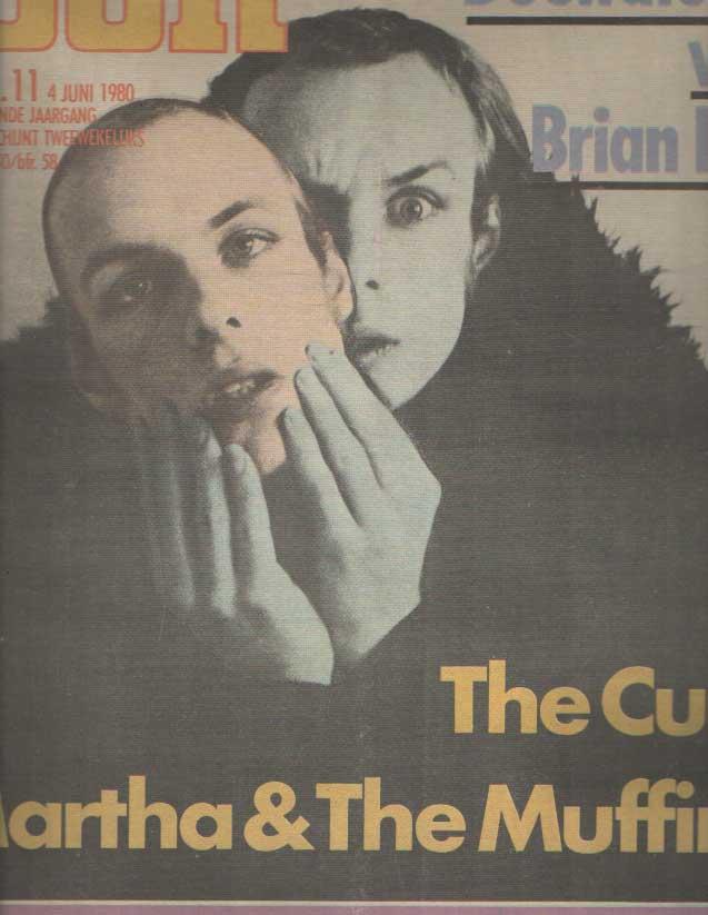 DIVERSE AUTEURS - Muziekkrant Oor. Negende jaargang, nummer 11, 4 juni 1980.